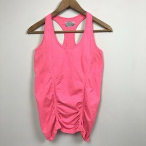 Athleta Fastest Track Ruched Racerback Tank Top